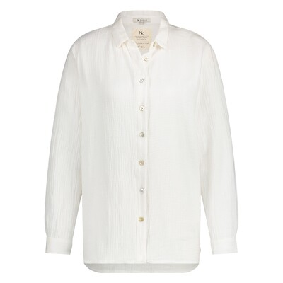 NUKUS | BLOUSE | barbara blouse off white