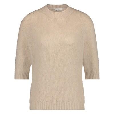 NUKUS   TRUI   kitty pullover zand