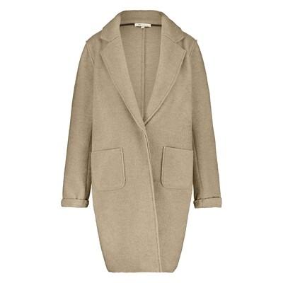 NUKUS   COAT   minte coat w21 bruin