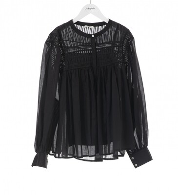 JC SOPHIE | BLOUSE | jade blouse zwart
