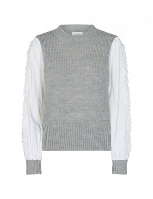 Levete Room - Trui met blouse mouw