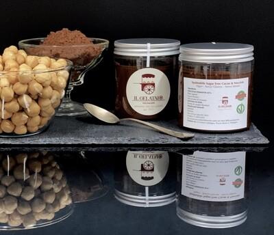 """Spalmabile """"Sugar free"""" Vegan 🌱 Cacao & Nocciole"""