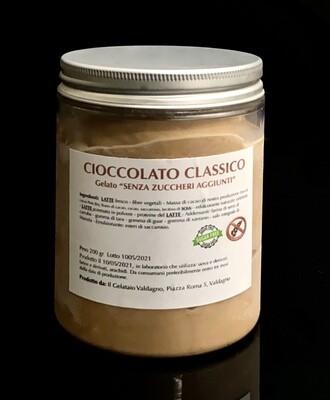 """Cioccolato Classico """"PRIVO di zuccheri aggiunti"""""""