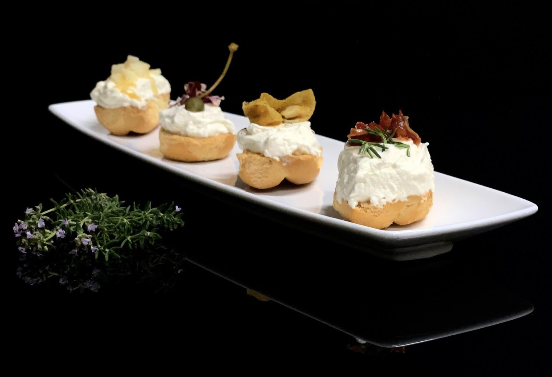 Gelato gastronomico di formaggio Asiago