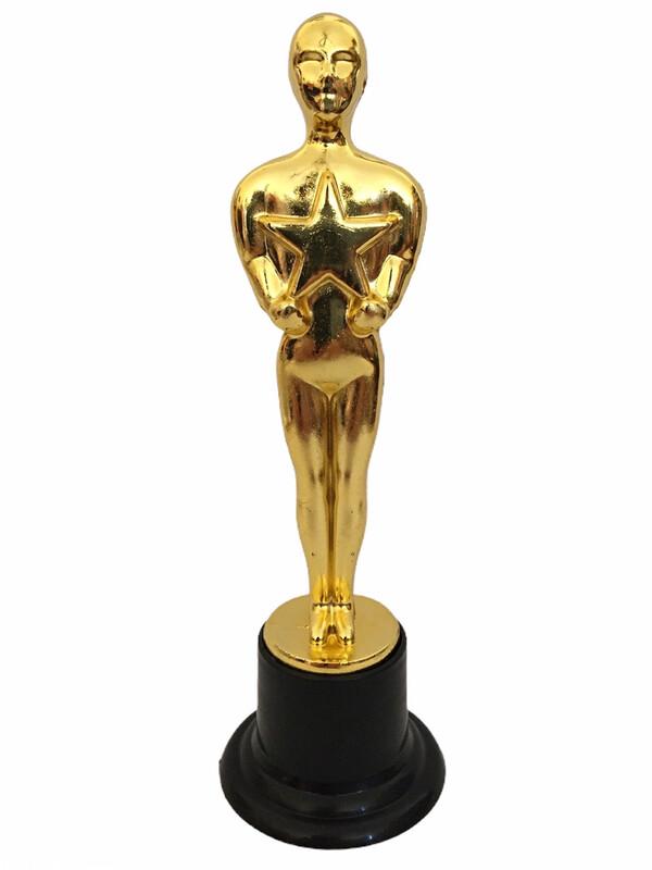 Estatuilla Oscar 10 piezas