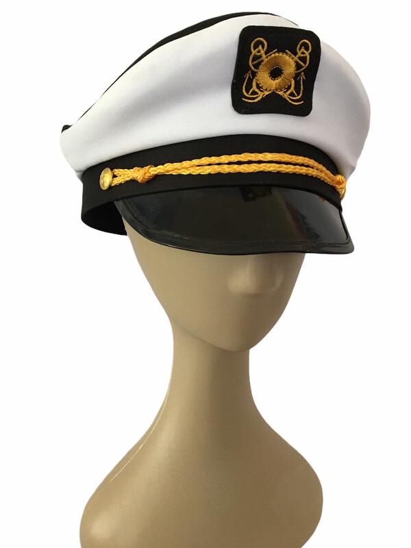Gorro Marinero Capitán Adulto