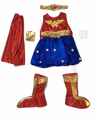 Disfraz Mujer Maravilla Infantil