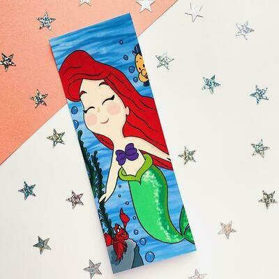 Mermaid Inspired Bookmark