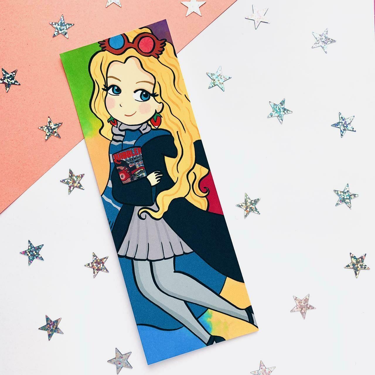 Luna Inspired Bookmark