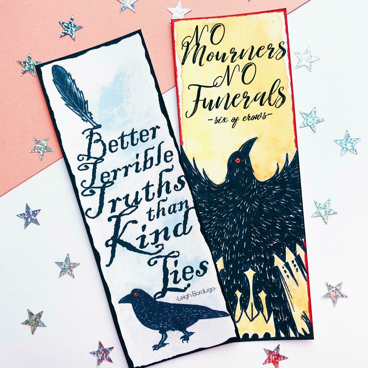 Six of Crows inspired bookmark BUNDLE