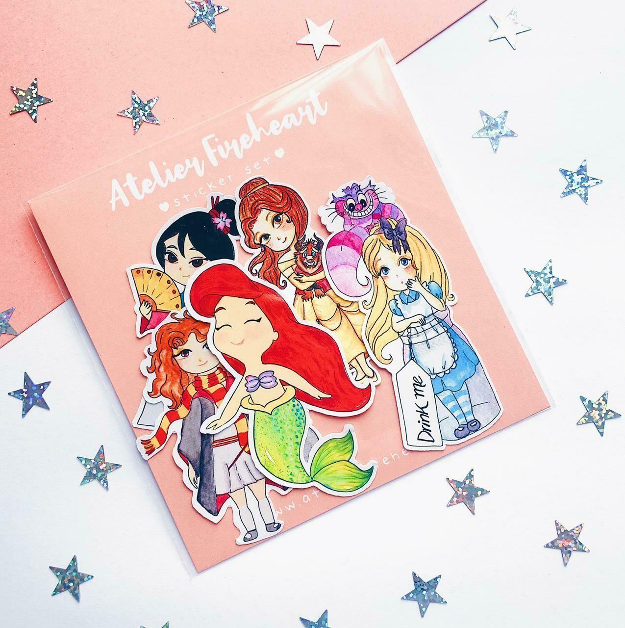 Girls Vinyl Sticker Pack