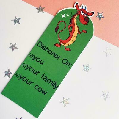 Sidekicks inspired bookmarks