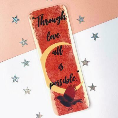 Crescent City inspired Bookmark