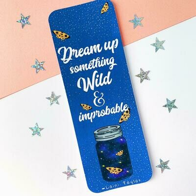 Strange the Dreamer inspired bookmark
