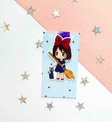 Kiki's inspired magnetic bookmark