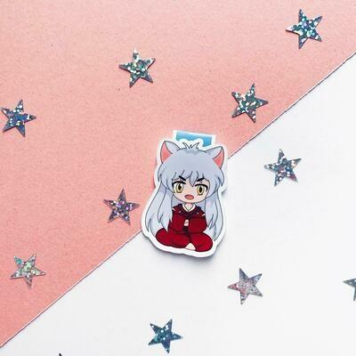 Inuyasha anime inspired bookmark