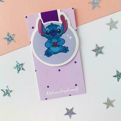 Sidekicks inspired magnetic bookmarks
