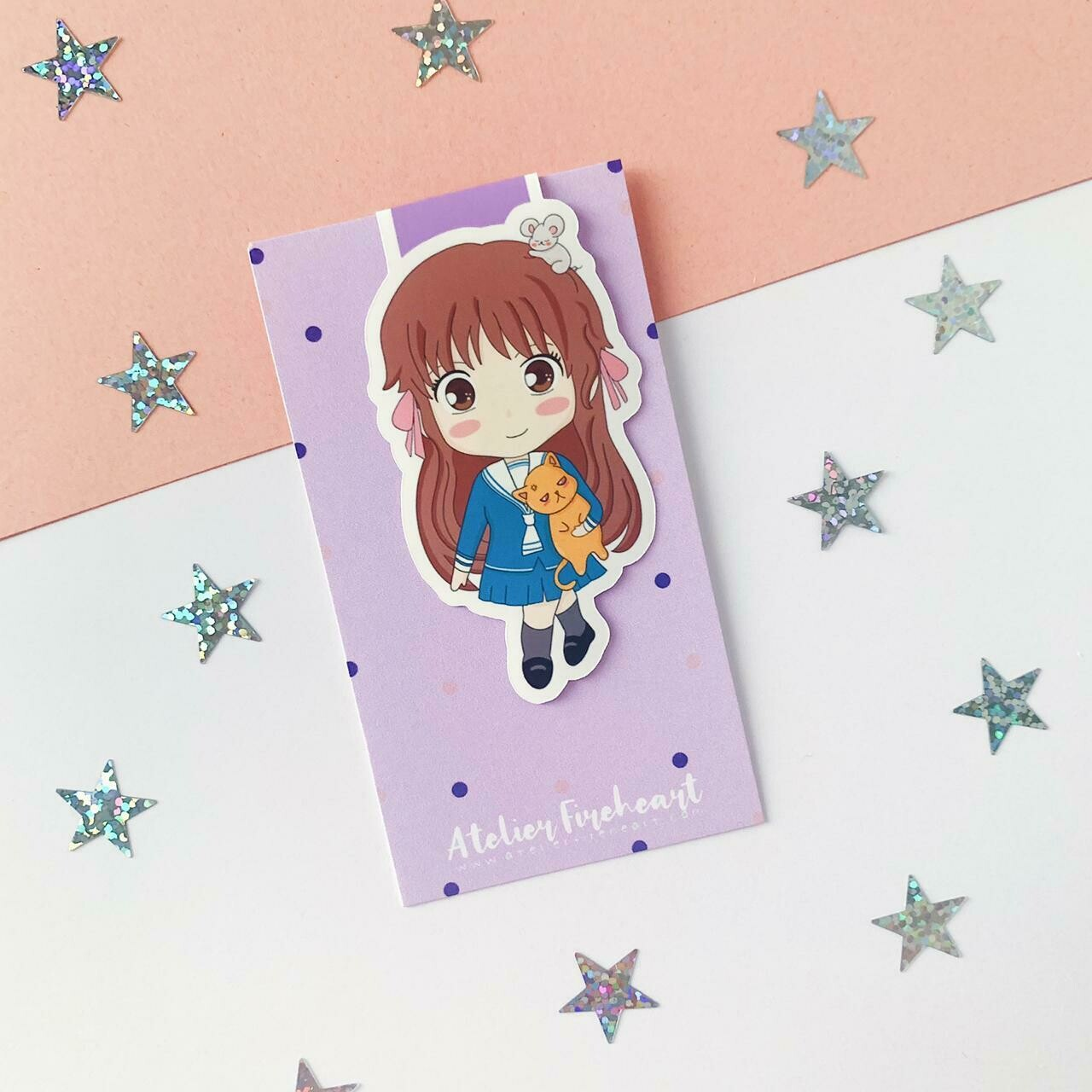 Fruits Basket magnetic bookmark