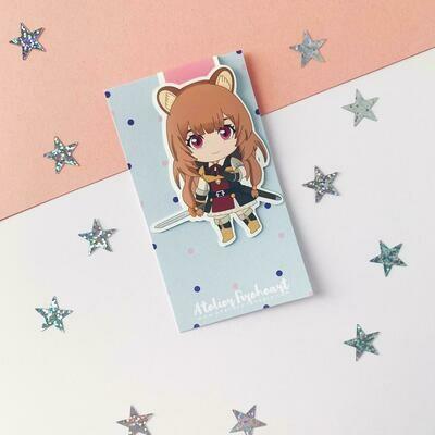 Best Girl anime inspired magnetic bookmark