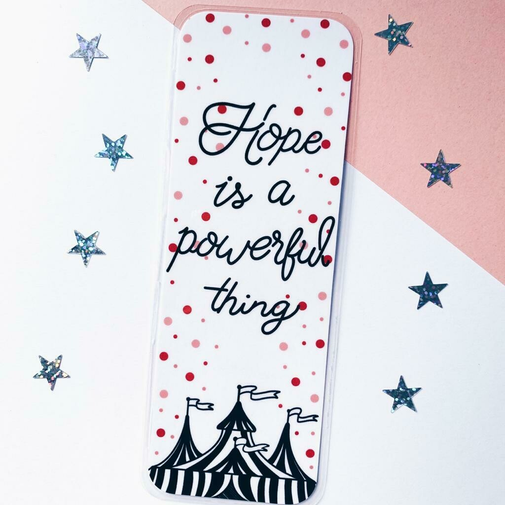 Caraval inspired bookmark