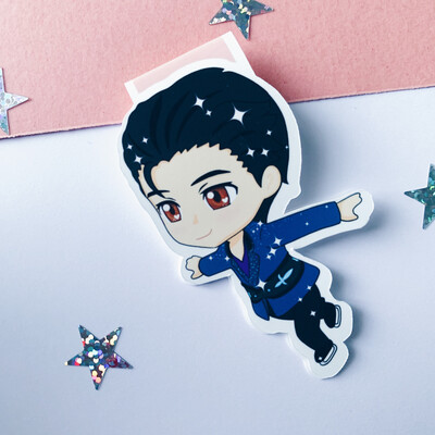 Love On Ice Yuri Inspired Magnetic Bookmarks
