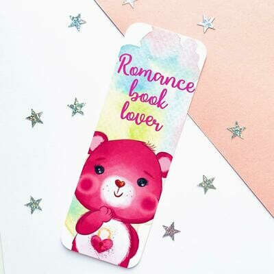 Romance Book Lover Bookmark