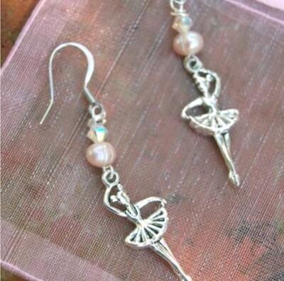 Deux Ballerina Earrings