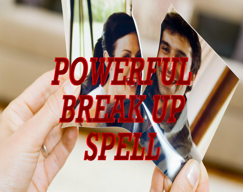 Powerful Break Up Spell