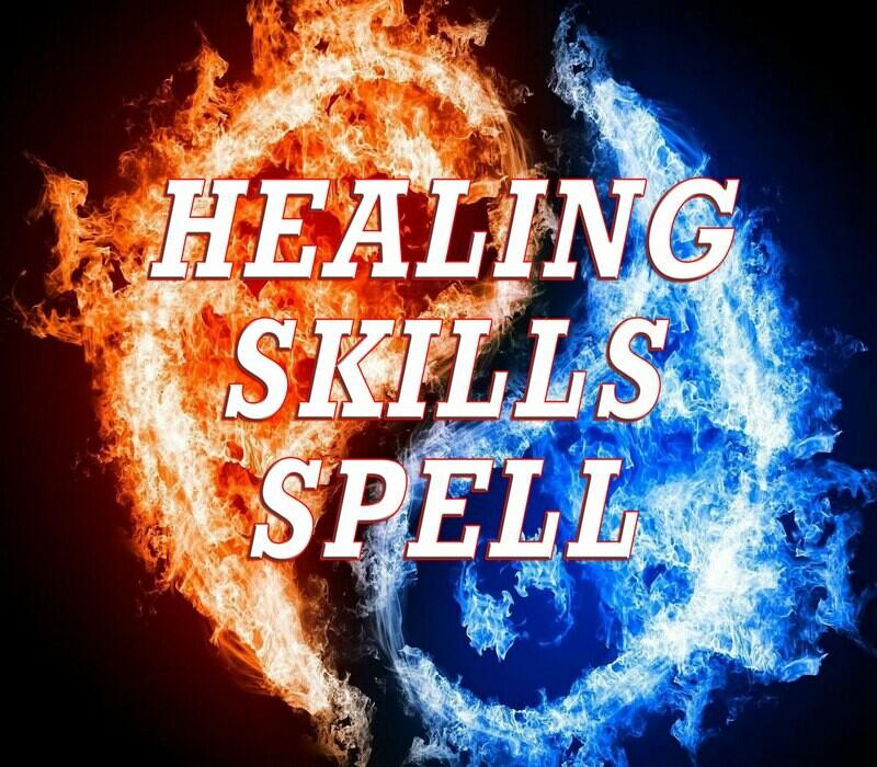 Healing Skills Magic Spell