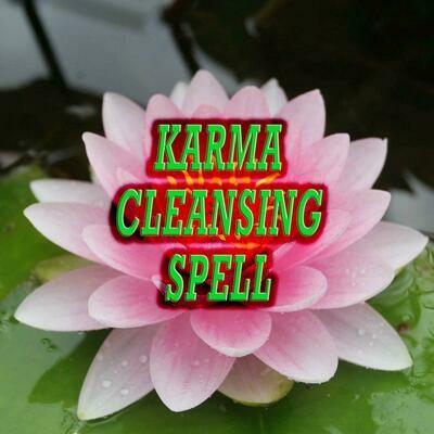 Karma Cleansing Spell
