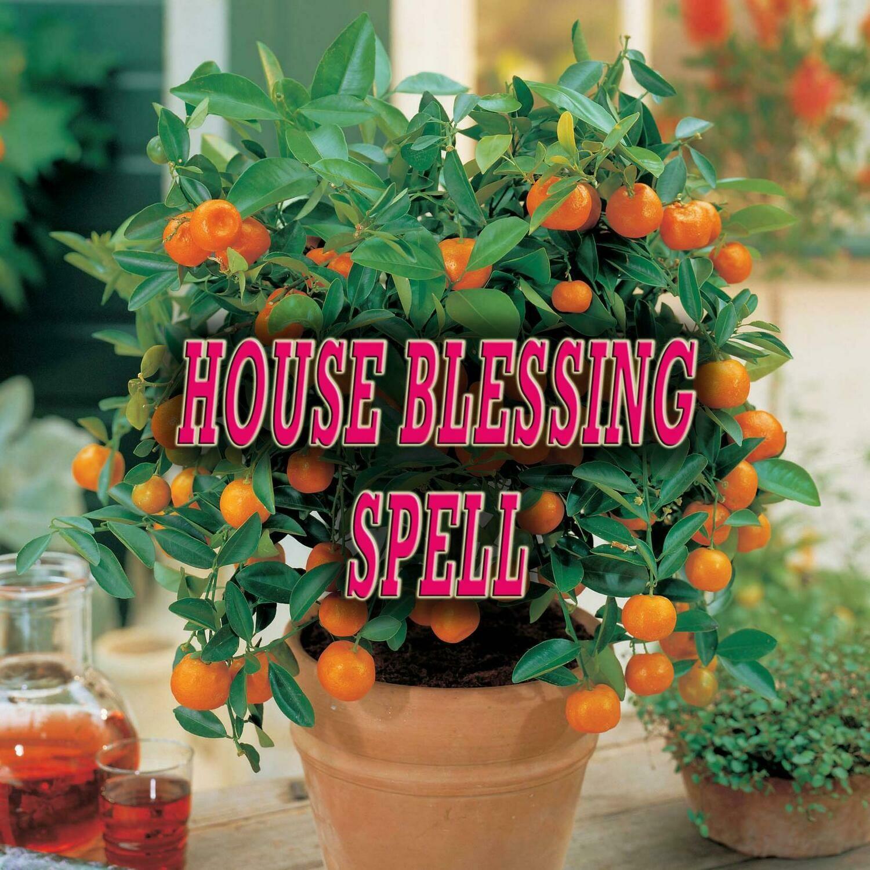 House Blessing Spell