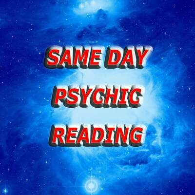 Same Day Psychic Reading Answers from Universe
