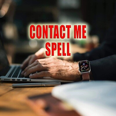 Contact Me Spell
