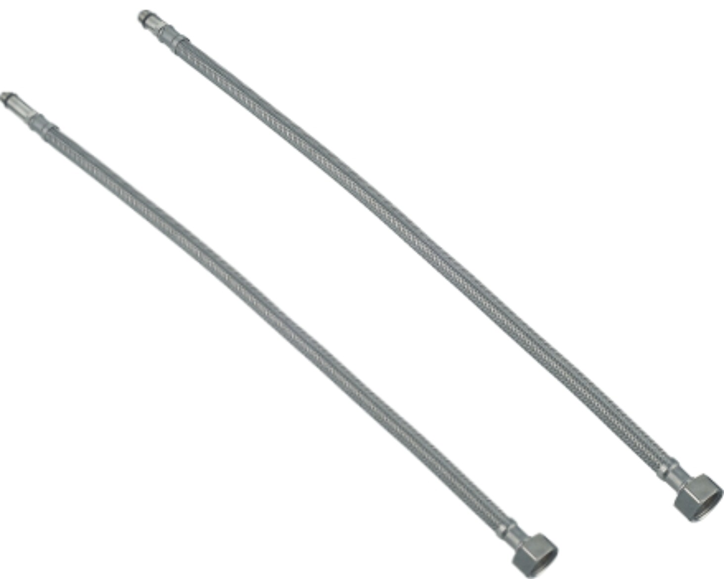 "Flexibles inox 1/2"" 50cm"