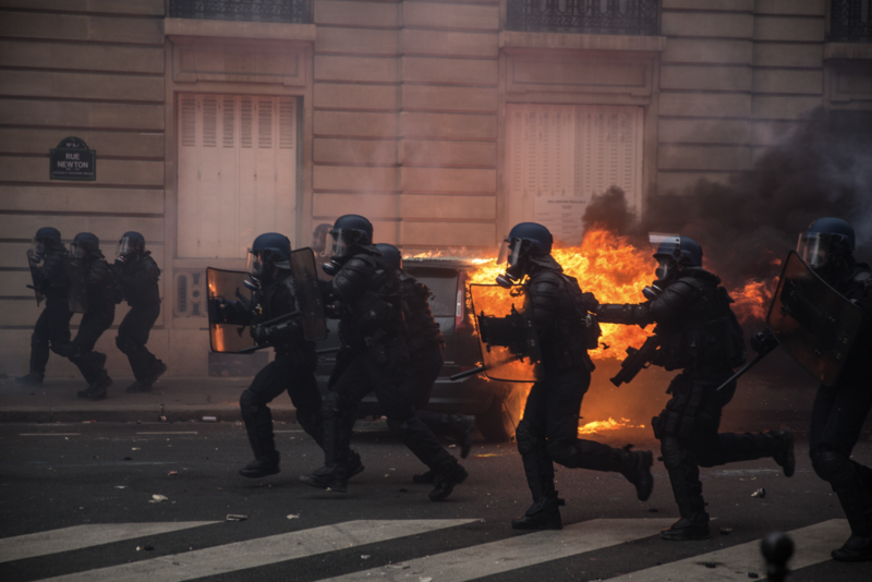 Protests/Politics in France [Print: various image & size options; FineArt or Photo Paper]