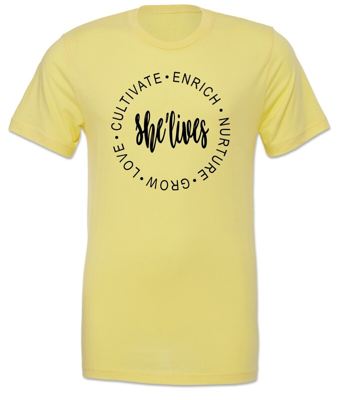 The She Lives Shirt (Yellow)