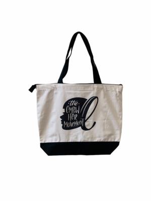 The EmpowHer Movement Zipper Tote Bag