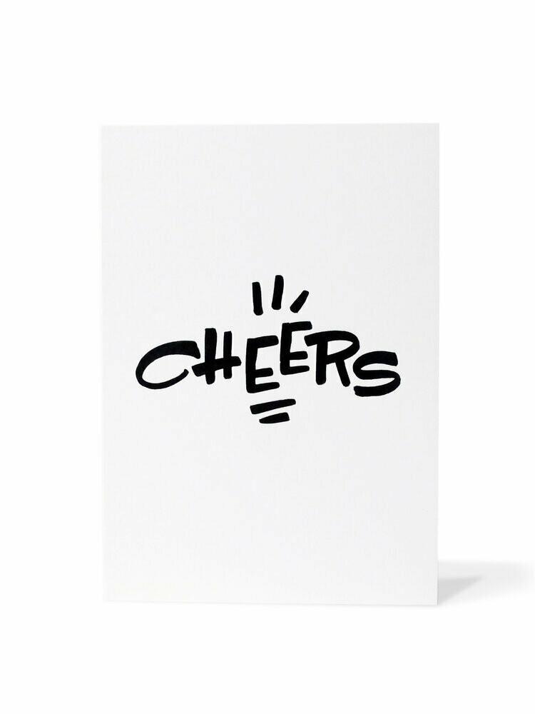 Mark van Goss _Card 'Cheers'