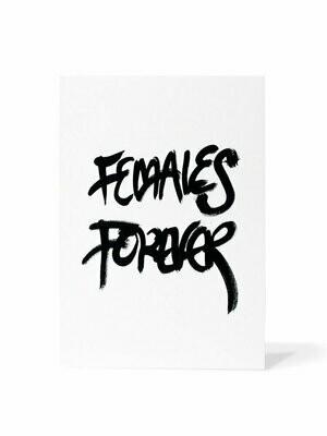 Mark van Goss _Card 'Females forever'