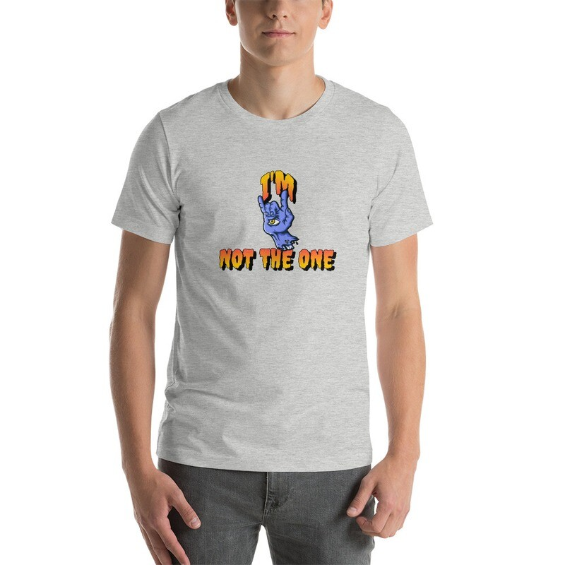 Funny t i'm not the one Short-Sleeve Unisex T-Shirt