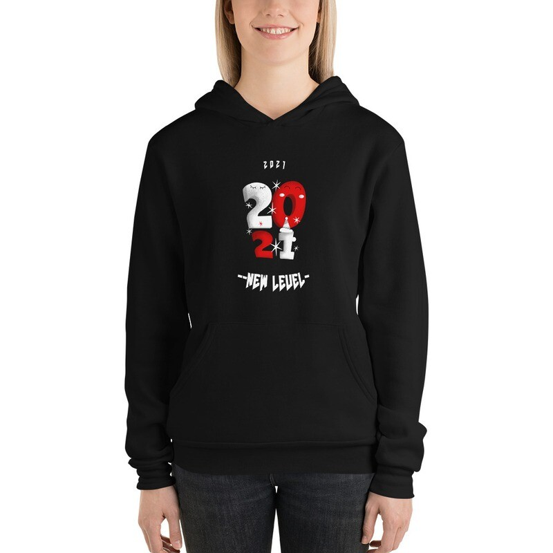 2021 New Level Unisex hoodie