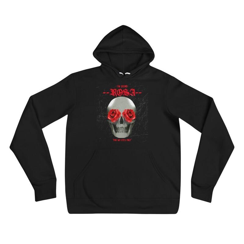 Unisex hoodie I'M SEEING ROSE