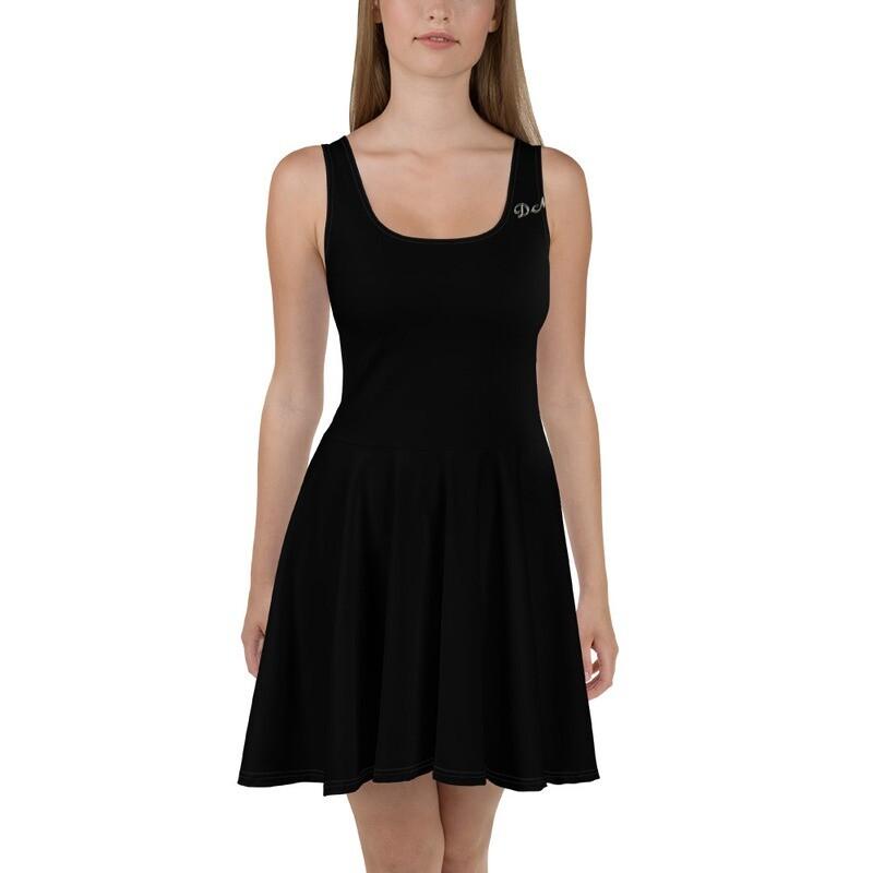 D.M Skater Dress