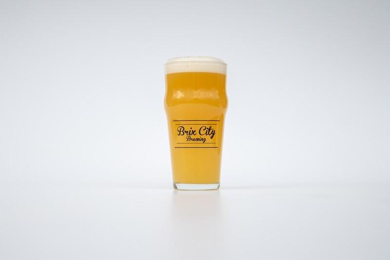 Script Logo Nonic Pub Glass