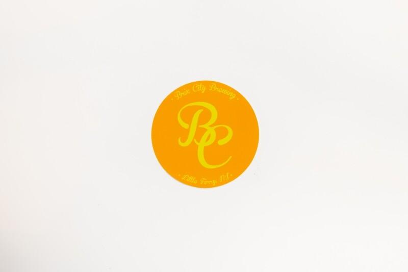 """BC"" Logo Sticker (YELLOW)"