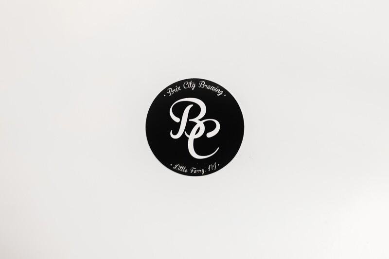 """BC"" Logo Sticker (BLACK)"