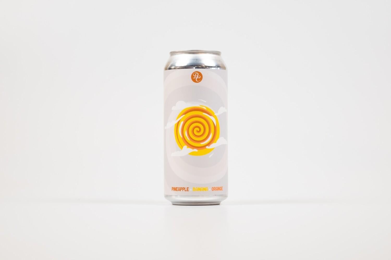 Triple Swirlpool (Pineapple+Banana+Orange) 16oz Cans - 4pk