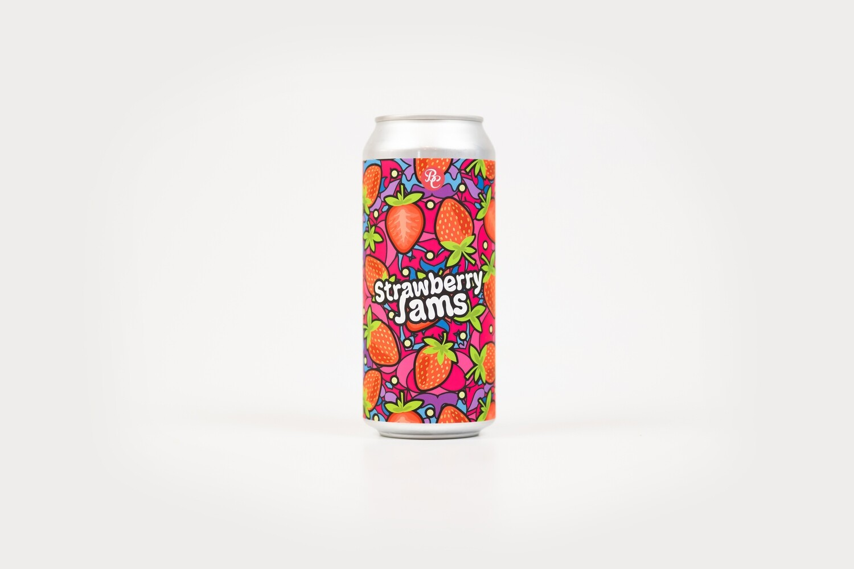 Strawberry Jams 16oz Cans - 4pk
