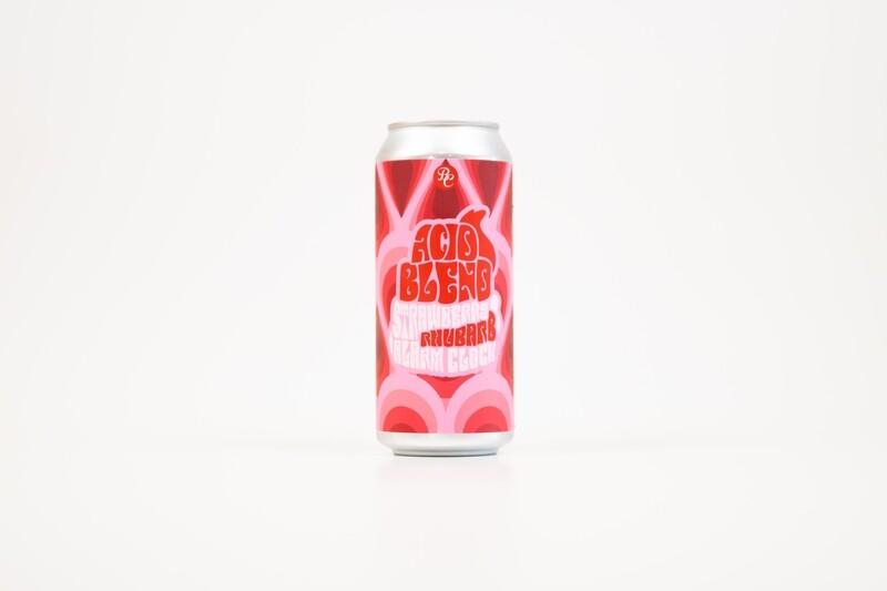 Acid Blend Strawberry Rhubarb Alarm Clock 16oz Cans - 4pk