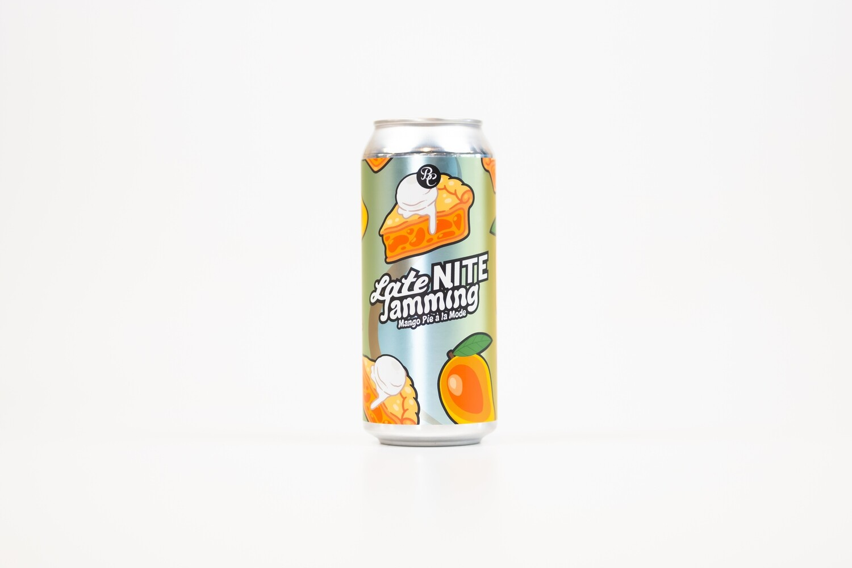 Late Nite Jamming: Mango Pie A La Mode 16oz Cans - 4pk